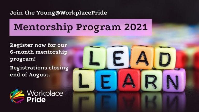 Young@Workplace Pride presents: Mentorship program 2021