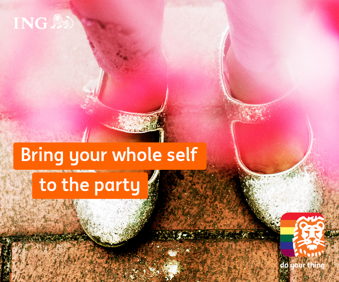 BRING YOUR WHOLE SELF TO THE PARTY